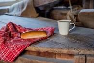 koffie en worstenbroodje